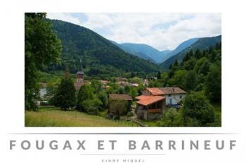 à visiter le village de Fougax et Barrineuf