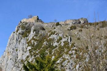 à visiter le chateau de ROQUEFIXADE