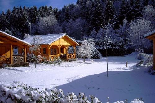 Vos vacances d'hiver à la Taillade de Montségur location chalet à la taillade de montségur en ariège dans les pyrénées
